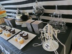 Chanel Inspired Party   CatchMyParty.com