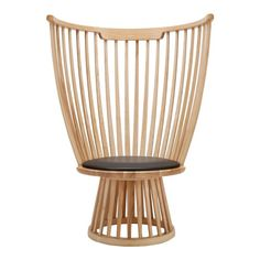 Tom Dixon Fan Chair this is awesome, but not for dining. Perhaps a sunroom