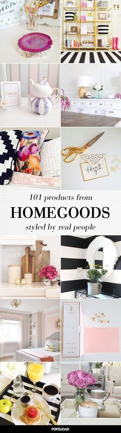 Affordable decor inspiration #HomeGoodsHappy
