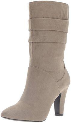 Nine West Women's Galegher Winter Boot, Dark Grey, 8 M US