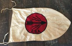 Vintage Boy Scouts of America Flaming Arrow Patrol by ApothecaryD