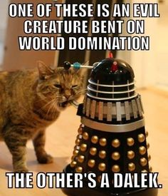Dr. Who's true enemy.