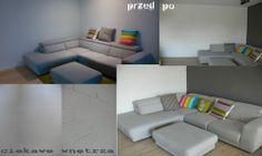Zmiana w salonie. Change in the living room. www.ciekawewnetrza.blox.pl