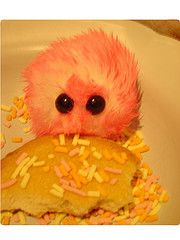 "Pygmy puff crafts for harry potter ""I love to read"" theme!"