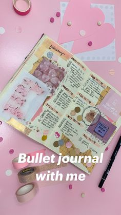 Bullet journal with me