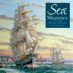 A cheerful collection of songs from the sea for the armchair sailor. Sea shanties were often sung to help with the repetitive and back breaking tasks needed to sail a big ship - good rhythms, good tunes and good words. Pirate Songs, The Shanty, Master And Commander, Song Of The Sea, Art Of Manliness, Sailing Adventures, Man Down, Ocean Themes, Nautical Theme