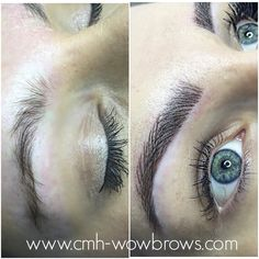Microblading Microstroke Feathering Feather Touch eyebrow tattooing 3D brows
