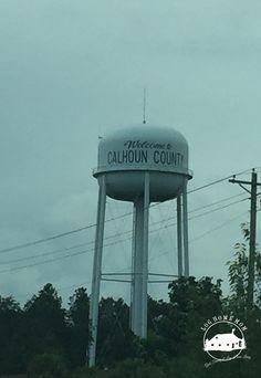 Water Tower on I-26 East Calhoun County Sc
