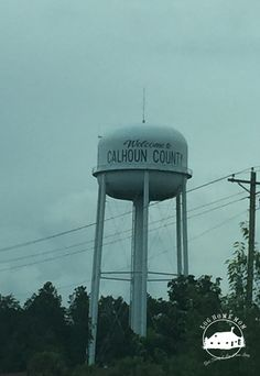 Water Tower on I-26 East Calhoun County Sc