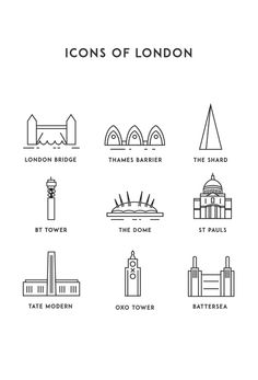 Icons of London Icons on Behance