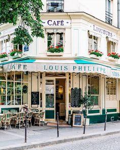 Parisian vibes, Cafe Louis Philippe by VuTheara Kham