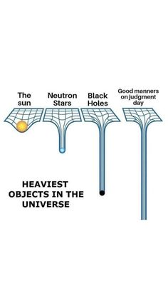 Heaviest Objects in the Universe . You never know how many people and angels made Dua'a for you for your good manners. Please continue to incorporate good manners to your lifestyle. May Allah guide us All 🤲🏻💖