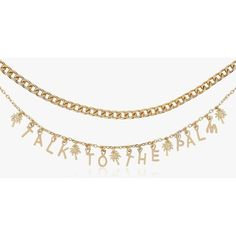 Talk to the Palm Choker by Skinnydip ($22) ❤ liked on Polyvore featuring jewelry, necklaces, gold, palm jewelry, palm tree jewelry, choker necklaces, palm tree necklace and choker jewellery