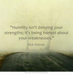 Humility - Rick Warren