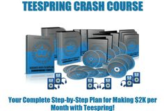 I will give you Teespring Crash Course Premium for $5