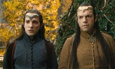 Burn the Fountain. I love how Lindir looks to Elrond for guidance on the horror he just witnessed.