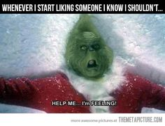 19 Memes For People Who Hate Feelings - Sarcasm Meme - Sarcasm Meme ideas - I'm not heartless I'm just misunderstood. The post 19 Memes For People Who Hate Feelings appeared first on Gag Dad. Le Grinch, Grinch Christmas, Christmas Movies, Grinch Heart, Funny Christmas, Christmas Photos, Christmas Time, Youre My Person, Wrong Person