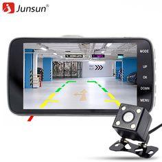 """Junsun Car DVR Camera 4.0"""" Full HD 1080P Video Recorder Registrator G-Sensor Night Vision Car Camcorder DVRs Dash Cam * Vy mozhete uznat' boleye podrobnuyu informatsiyu po ssylke izobrazheniya."""