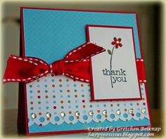 Clean and simple with Bling! by grbscrap - Cards and Paper Crafts at Splitcoaststampers