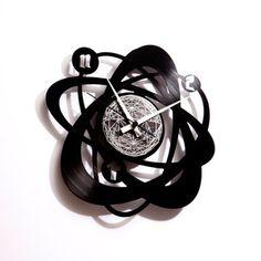 Fab.com | Recycled Vinyl Wall Clocks by Max Stefanutti