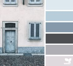 { a door hues } image via: @closetteblog