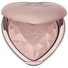 Shop Too Faced's Love Light Prismatic Highlighter at Sephora. The heart-shaped highlighter delivers buildable pearl radiance with a silky-smooth finish.
