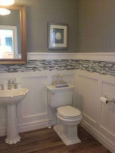 Bathroom choices- help me decide! Should I go bold or play it safe?  #BathroomRemodeling