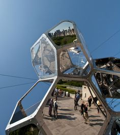 On The Roof: Cloud City by Tomás Saraceno