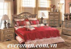 bộ everon 1406 chất liệu cotton màu đỏ mạnh mẽ