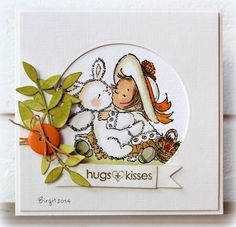 WT473 My new Sweety by Biggan - Cards and Paper Crafts at Splitcoaststampers