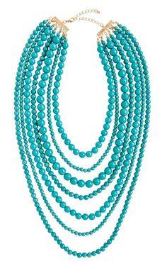 Strands necklace | kimskie