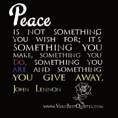 Funny Peace Quotes. QuotesGram