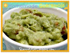 Simple Guacamole Recipe---maybe minus the horseradish!