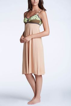 Designed as a sleepwear... but could be cool as a dress too perhaps?  -qt