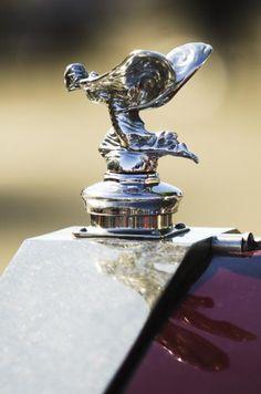 1932 Rolls-royce Hood Ornament by Jill Reger