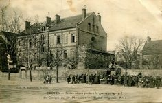 L'ancienne clinique du Dr Massoulard, hôpital temporaire n°1