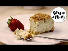 Kokos Cheesecake low carb   Käsekuchen zuckerfrei mit Stevia   Mrs Flury - YouTube