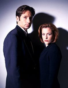 Mulder & Scully - P & I already agreed our next dogs will be one male and one female named Mulder & Scully