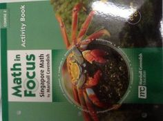 Math in Focus: Singapore Math: Activity Book Course 2 in Books, Textbooks, Education | eBay
