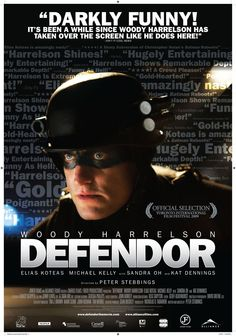 Defendor is a 2009 Canadian superhero comedy-drama film written and directed by Peter Stebbings, and starring Woody Harrelson, Kat Dennings, Elias Koteas and Sandra Oh. The story tells of a mentally ill man who adopts the persona of a real-life superhero named Defendor on a quest to find his arch enemy, Captain Industry.