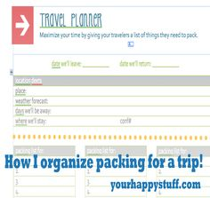i love my printable travel planner you might too