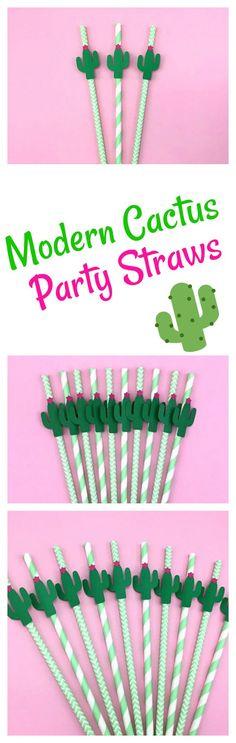 Modern cactus party decor. Modern cactus party DIY. Modern party decor. Cactus party decor. Easy cactus party decor. (affiliate)