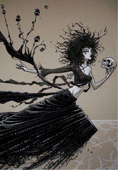 Death - Roger Cruz Comic Art