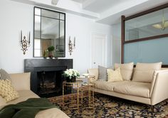 Roughan Interior Design, Living Room, Photographer Jane Beiles