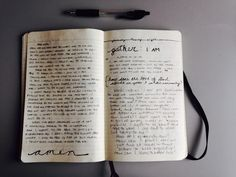 Writing in Notebooks: Photo