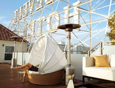 The Gable Lombard Roof Deck at the Hollywood Roosevelt