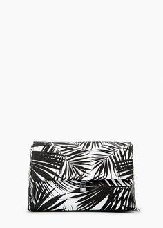 Sac imprimé palmiers | MANGO