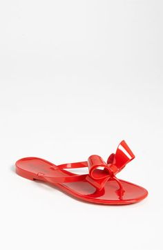 Valentino Couture Bow Thong Sandal available at #Nordstrom 2014
