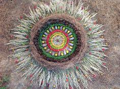 beautiful earth mandala