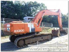 UsedJapaneseTractors.jp : HITACHI EX200-2 EXCAVATOR Military Vehicles, Monster Trucks, Army Vehicles